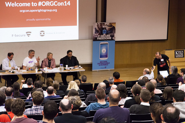 Image of MP debate session at ORGCon