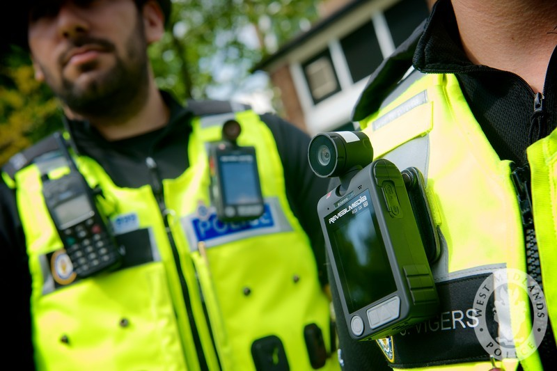 Body worn camera CC-BY-SA 2.0 West Midlands Police